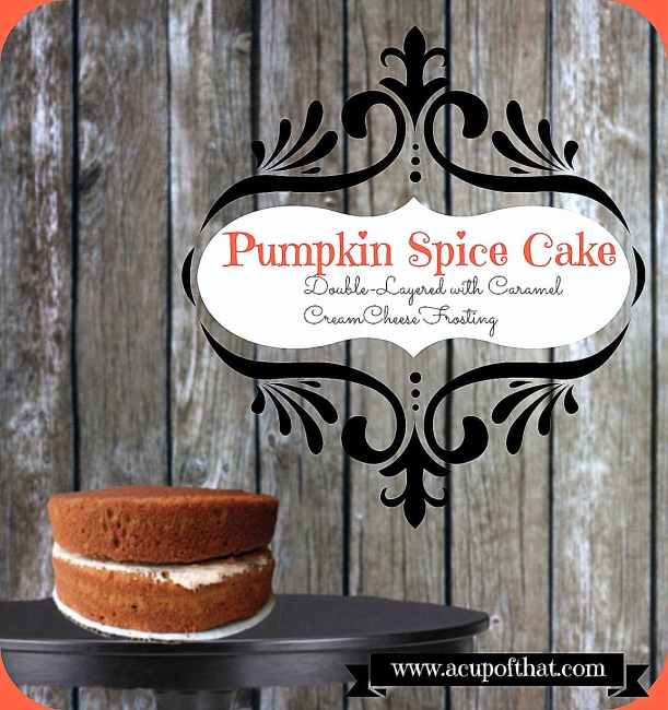 no icing pumpkin cake